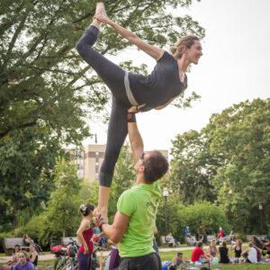 Brian Cruikshank and Brie Freeman in Washington, DC