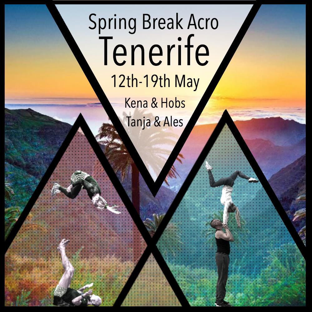 Acro Spring Break Tenerife 2020